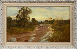 HARRY PENNELL OIL ON CANVAS