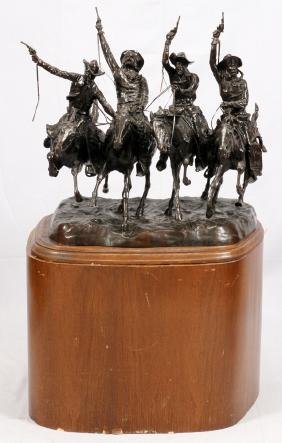 FREDERIC REMINGTON BRONZE SCULPTURE