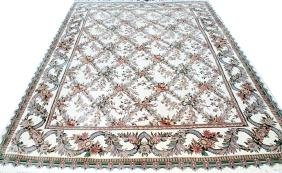 AUBUSSON STYLE ORIENTAL RUG