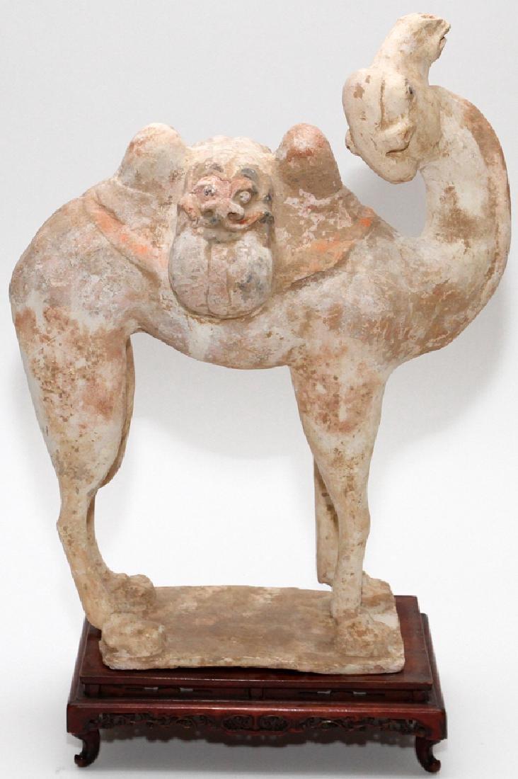 TERRACOTTA CAMEL FIGURE - 3