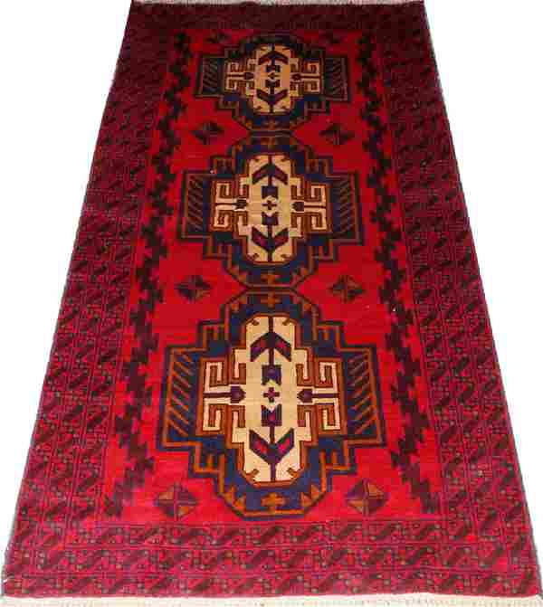 PERSIAN LURI WOOL RUG C. 1950-1980