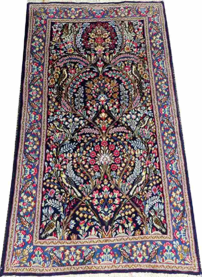 HAMADAN PERSIAN RUG ALL WOOL HAND WOVEN