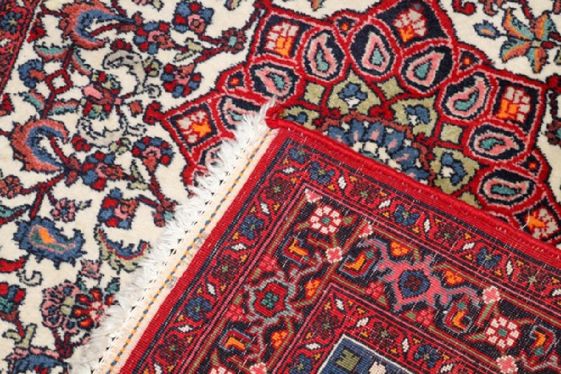 HAMADAN PERSIAN HAND WOVEN WOOL CARPET - 2