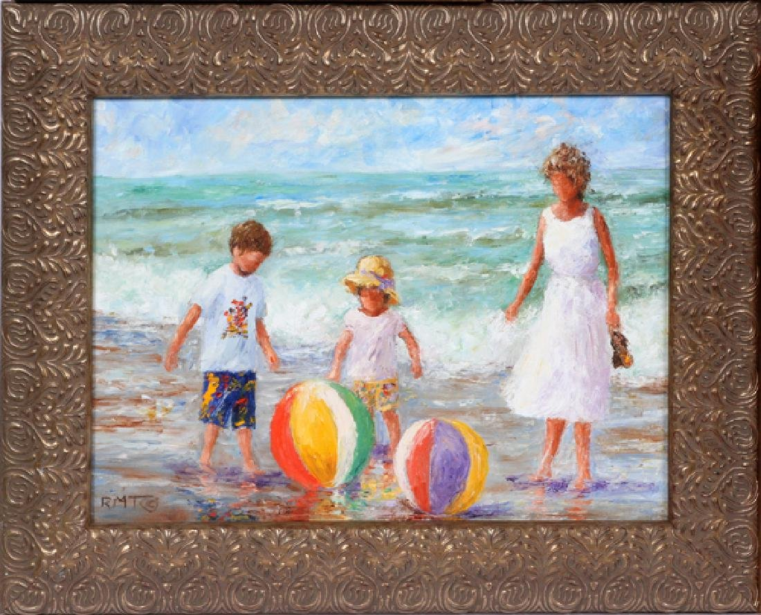 RUTH MILLER TAYLOR OILS ON CANVAS - 2