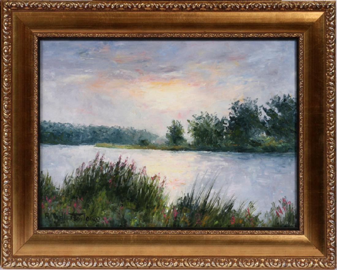 RUTH MILLER TAYLOR OILS ON CANVAS - 3