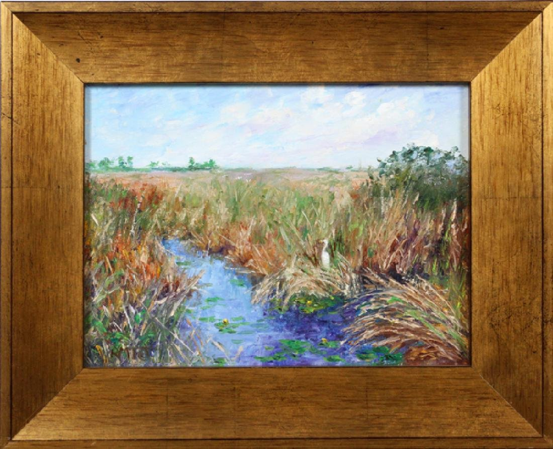 RUTH MILLER TAYLOR OILS ON CANVAS - 5