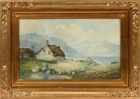 ANDREW BLAIR WATERCOLOR 1874