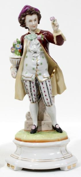 GERMAN PORCELAIN FIGURE C. 1880