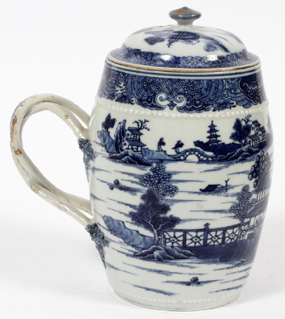 CHINESE 18TH.C. BLUE & WHITE PORCELAIN