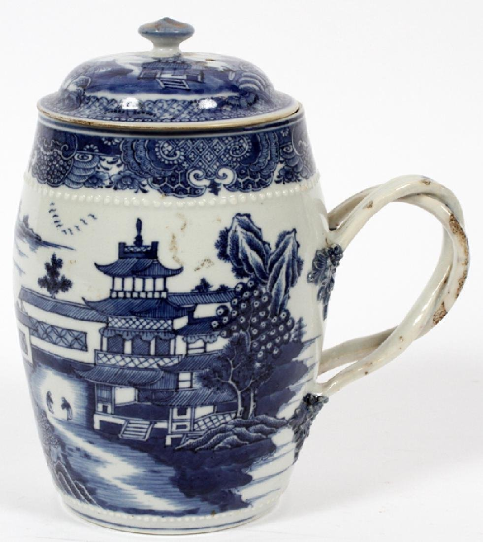 CHINESE 18TH.C. BLUE & WHITE PORCELAIN - 2