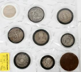 FRENCH SILVER & BRONZE MEDAL COLLECTION 1836-1912