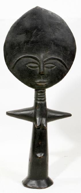 AFRICAN CARVED WOOD FERTILITY FIGURE