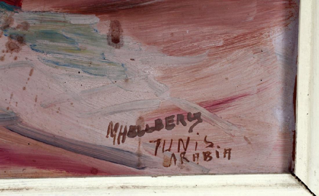 M. HELLBERG OIL ON MASONITE - 2