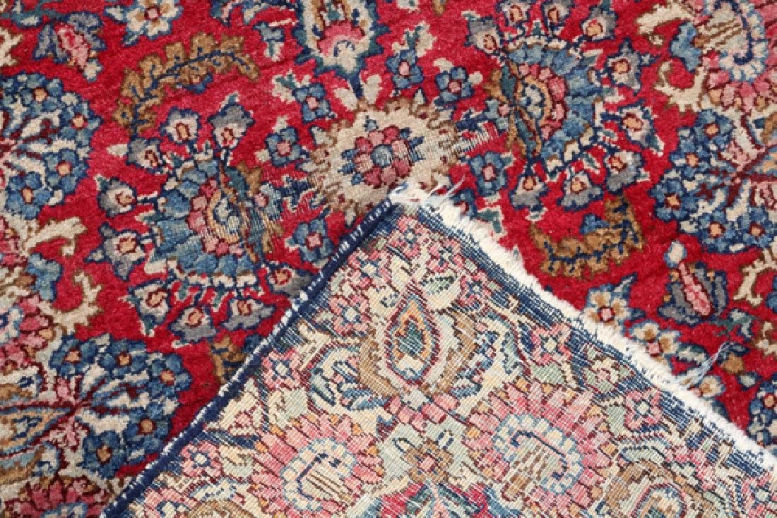 KERMAN PERSIAN WOOL MAT C 1920 - 2