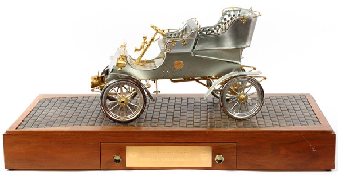 STERLING SILVER GOLD DIAMOND AND RUBY 1903 MODEL A
