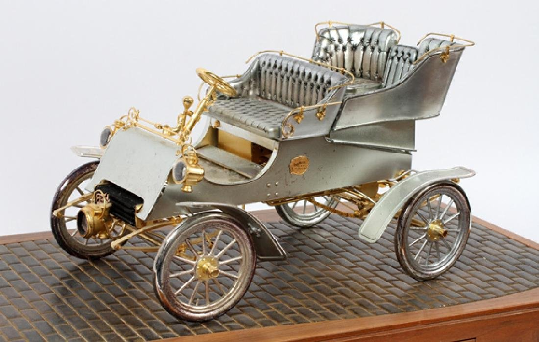 STERLING SILVER GOLD DIAMOND AND RUBY 1903 MODEL A - 2