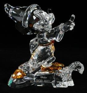 Swarovski Crystal Sorcerer Mickey Figurine