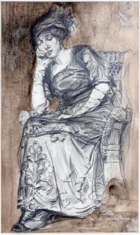 SARAH L. CRAVEN PENCIL ON PAPER