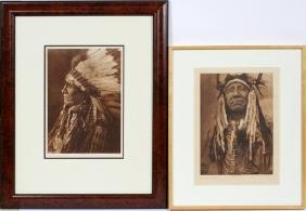 PHOTOGRAVURE GROUP FROM EDWARD S. CURTIS IMAGES