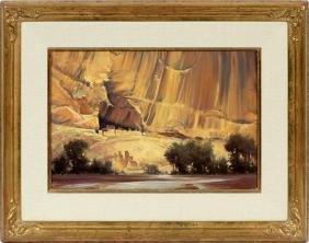 WILLIAM S. JENNINGS OIL ON CANVAS