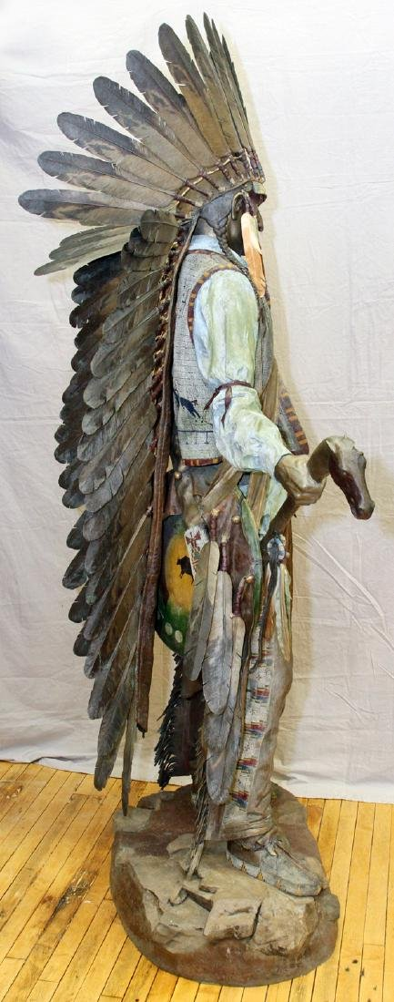 DAVE MCGARY BRONZE SCULPTURE - 12