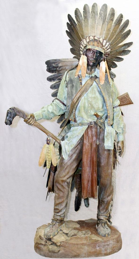 DAVE MCGARY BRONZE SCULPTURE