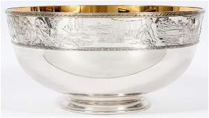 THE FRANKLIN MINT STERLING SILVER BICENTENNIAL BOWL