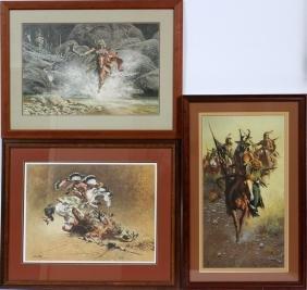 FRANK MCCARTHY OFFSET LITHOGRAPHS THREE