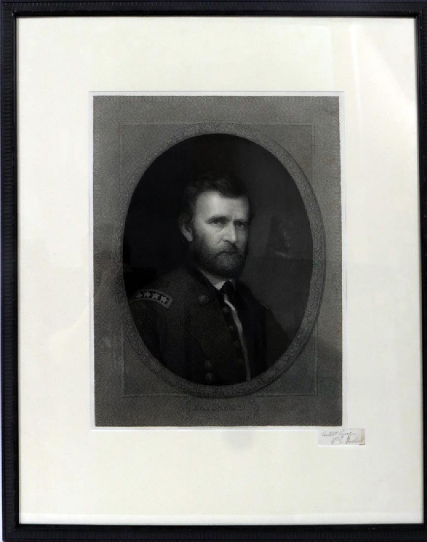 WILLIAM EDWARD MARSHALL ENGRAVING ON PAPER