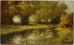 GEORGE THOMPSON PRITCHARD OIL ON CANVAS