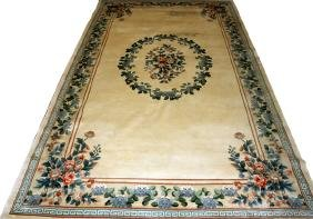 CHINESE HAND WOVEN CONTEMPORARY RUG