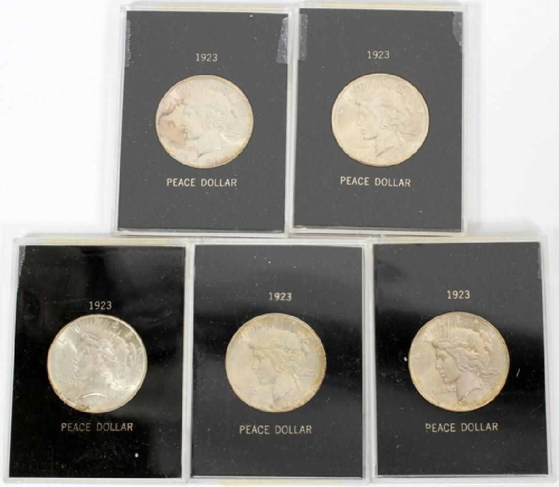 U.S LIBERTY-HEAD $1. STERLING SILVER COINS