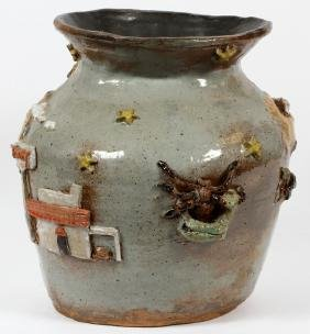 'HOLLYWOOD' POTTERY VASE