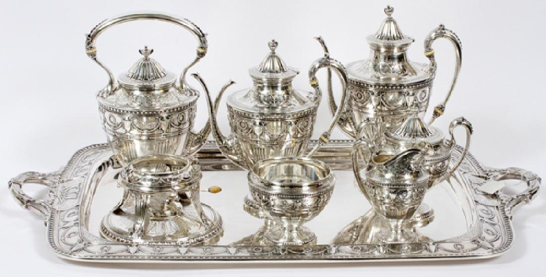 WHITING MFG. CO. STERLING TEA AND COFFEE SERVICE