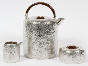 SAN LORENZO STERLING TEA SET 3 PIECES