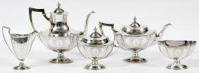 INTERNATIONAL STERLING TEA AND COFFEE SERVICE