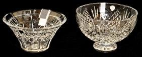 WATERFORD CRYSTAL BOWLS TWO