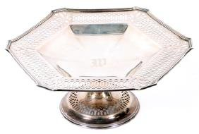 REED & BARTON STERLING CAKE PLATE/TAZZA