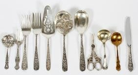 AMERICAN STERLING FLATWARE 22 PIECES