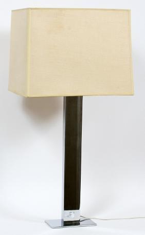KOVACS MID-CENTURY MODERN CHROME LAMP