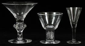 STEUBEN GLASS STEMWARE 11 PIECES