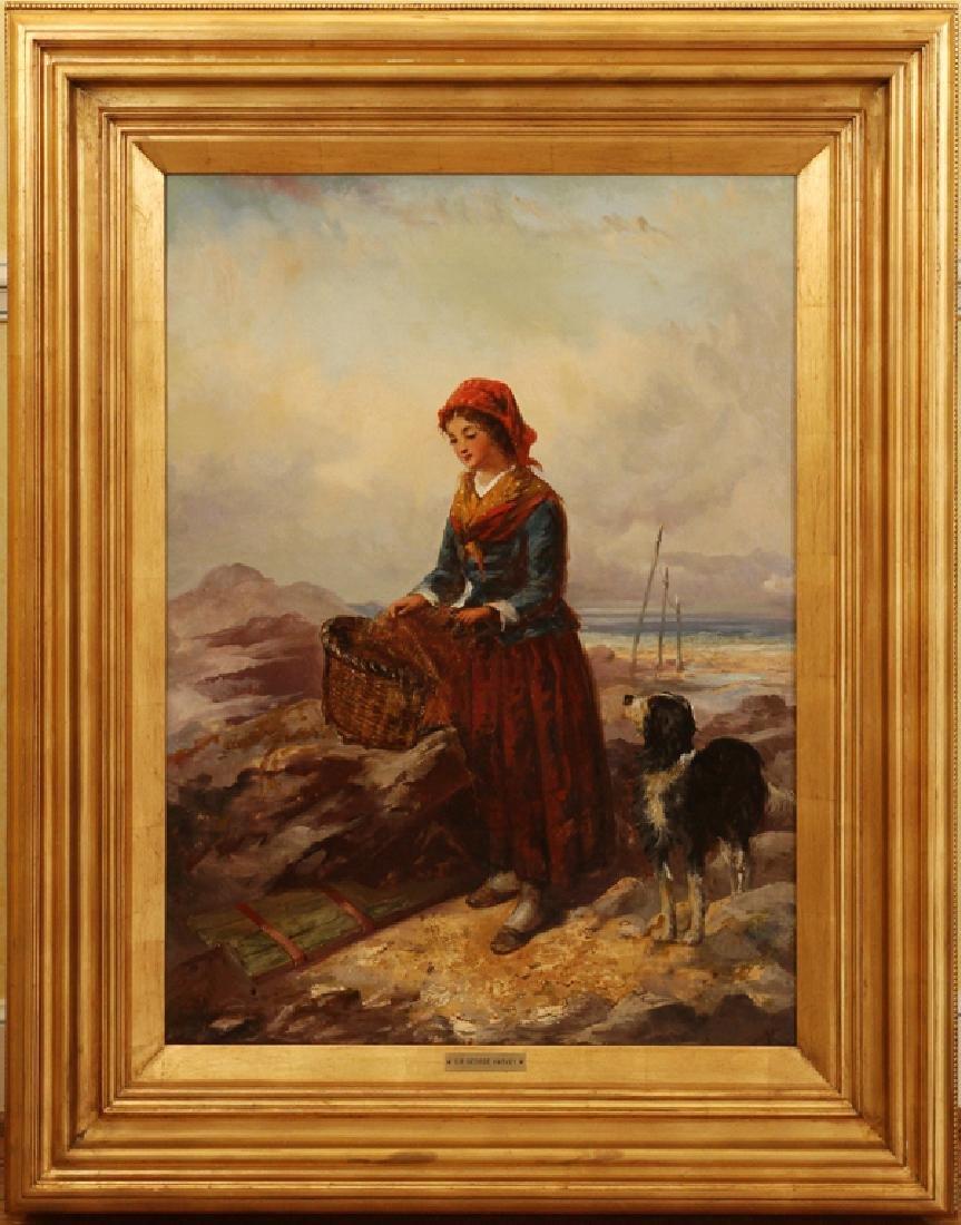 GEORGE HARVEY OIL ON CANVAS C.1880S