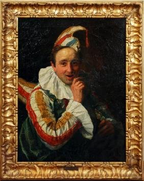 FRANCESCO VINEA OIL ON CANVAS