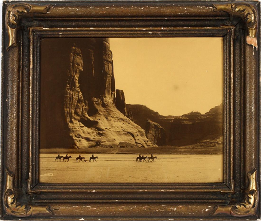 EDWARD SHERIFF CURTIS OROTONE PRINT 1904