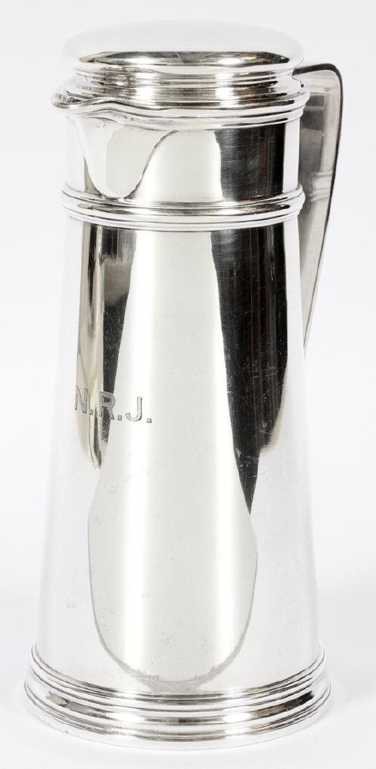 TIFFANY STERLING COCKTAIL SHAKER 1942