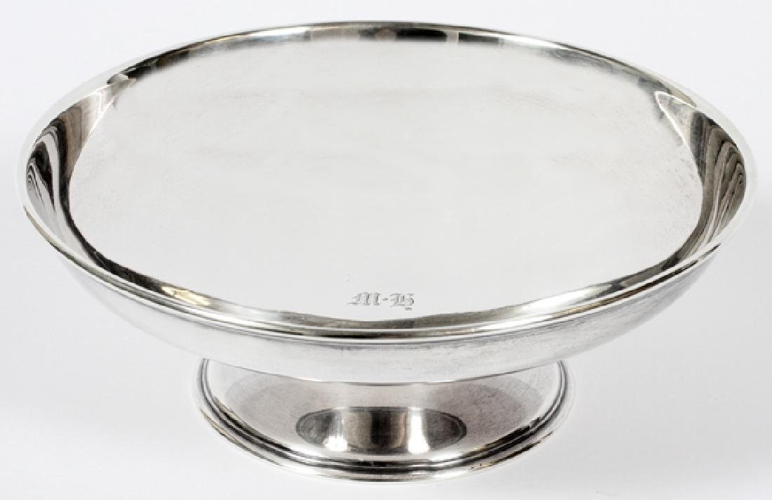 TIFFANY STERLING COMPOTE EARLY 20TH C.
