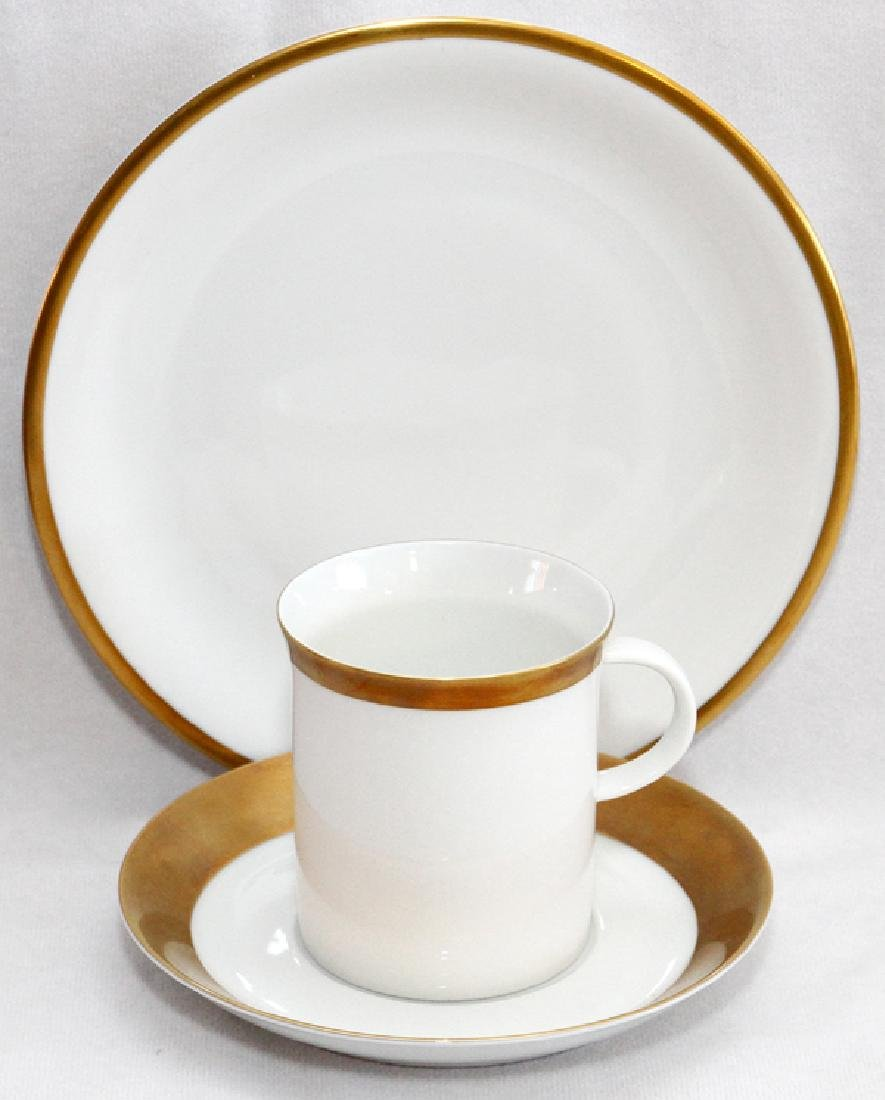 KPM BY ROSENTHAL LUNCHEON PLATES CUPS & SAUCERS
