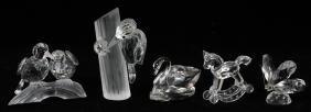 Swarovski Crystal Collection Five Pieces