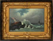 C. HOWARD OIL ON CANVAS C. EARLY 20TH C.