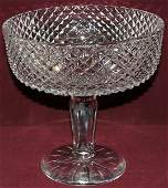 """091283: WATERFORD CRYSTAL COMPOTE H9"""" DIA9"""""""